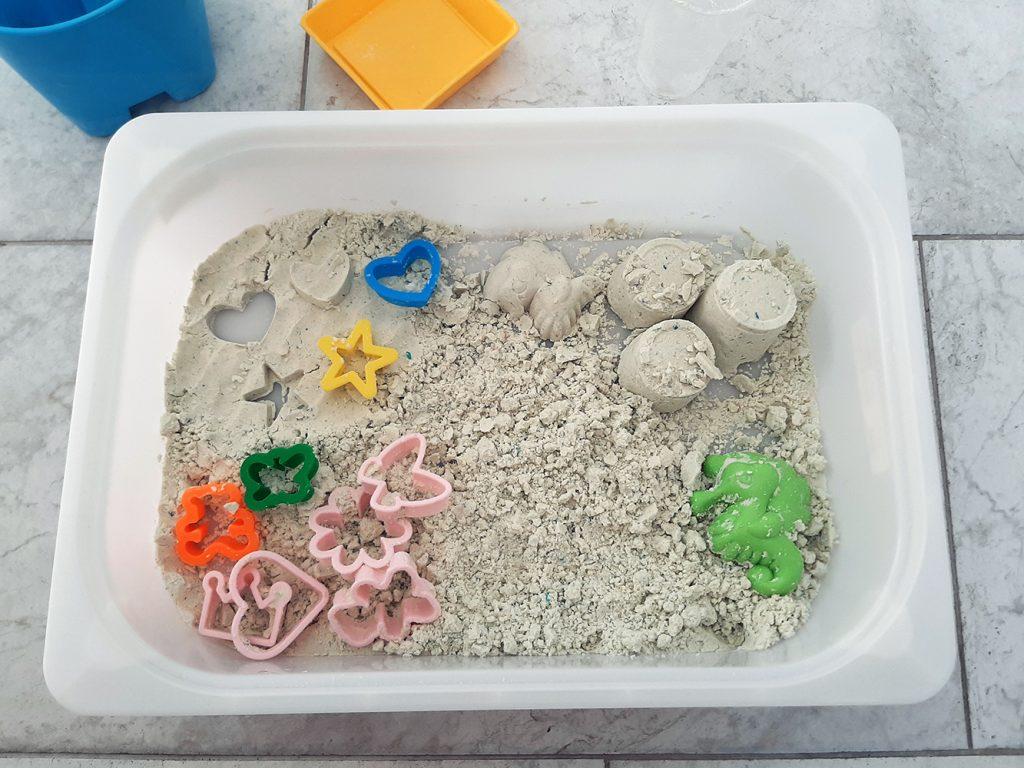 kinetički domaći pjesak za dječju igru