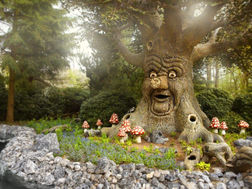 drvo koje govori efteling