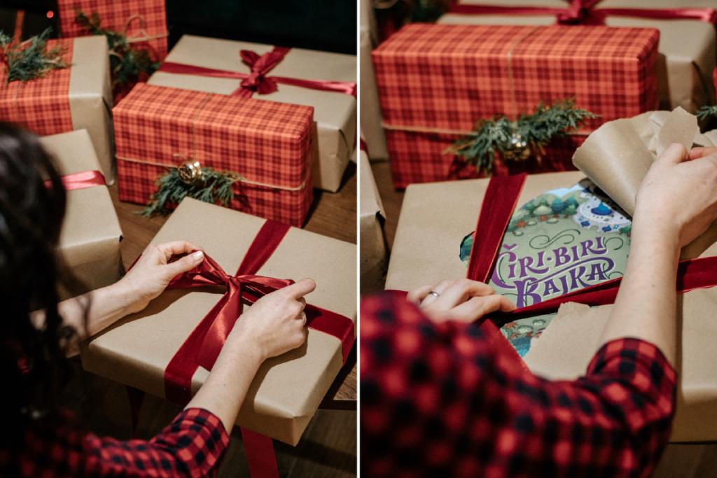 društvena igra čiri biri bajka koju djevojka odmata kao poklon